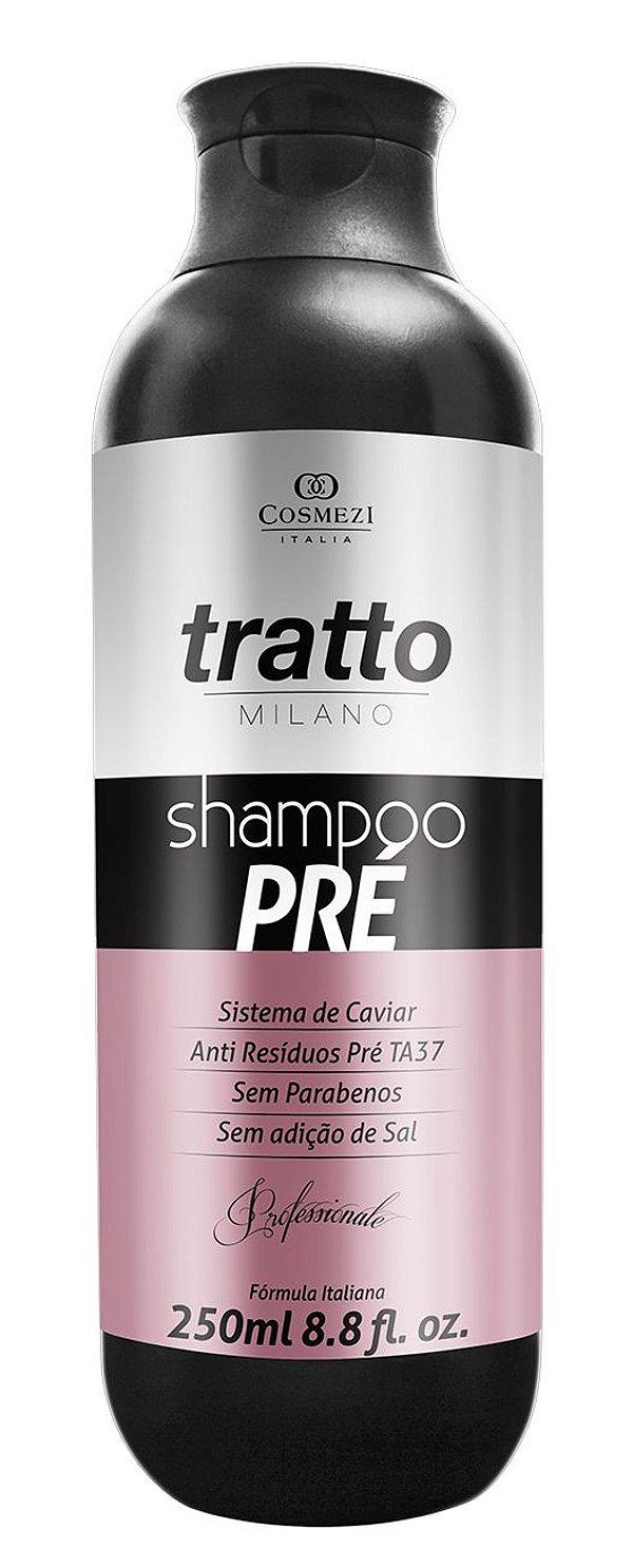 Shampoo Profissional Pré de Limpeza Antiresíduos Caviar 250ml