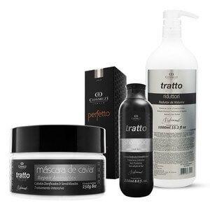Kit Caviar Tratamento para Mega Hair - 4 produtos profissionais