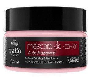 Mascara de Caviar Aminoplex - Rubi - Coloridos e Tonalizados 250g