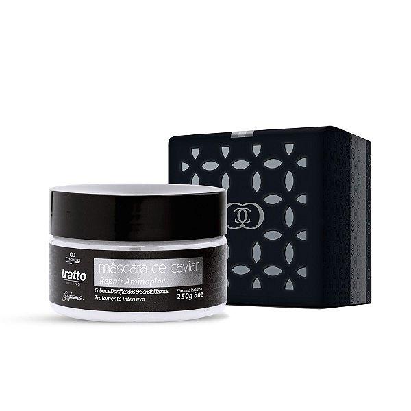 Máscara de Caviar & Aminoplex Tratto 250g - Danificados & Sensibilizados