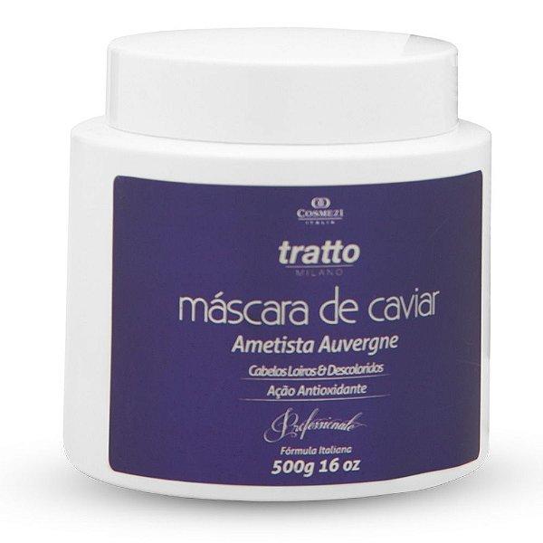 Máscara para Cabelos Loiros e Descoloridos Caviar Ametista 500g