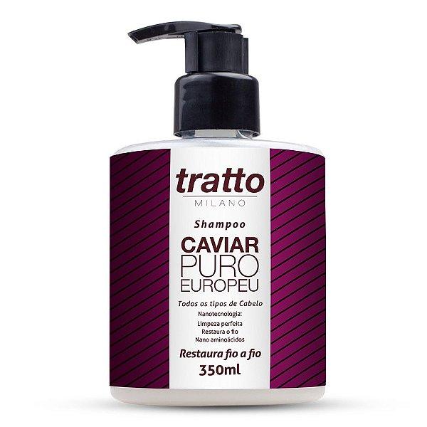 Shampoo Caviar Puro Europeu - 350ml - Todos os Tipos de Cabelo