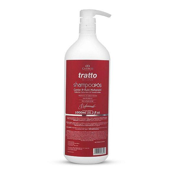 Shampoo de  Caviar & Rubi Tratto Profissional 1 L - Coloridos & Tonalizados