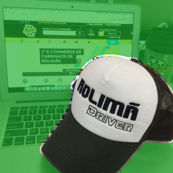 Boné Trucker c/ telinha - Rolimã Shop Mod2