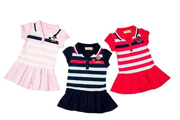 0e842efaf4 Vestido Polo Bebê - Loja Online Infantil - Kiki   Mily