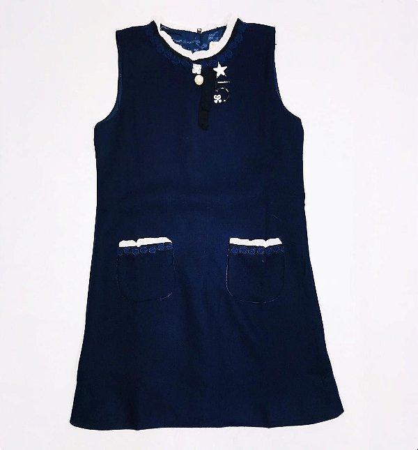 Vestido Marinho Mily