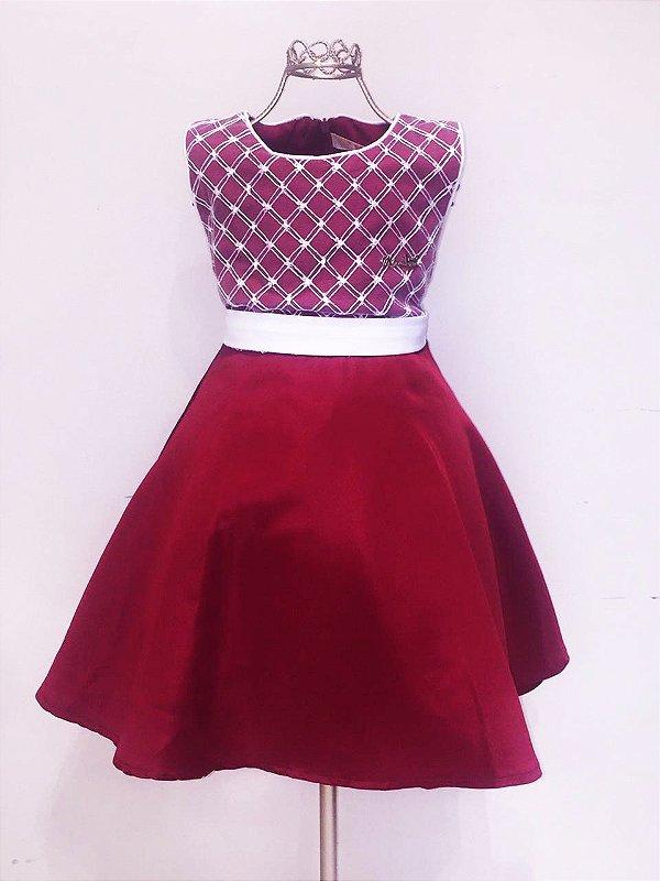 Vestido Vermelho Mily