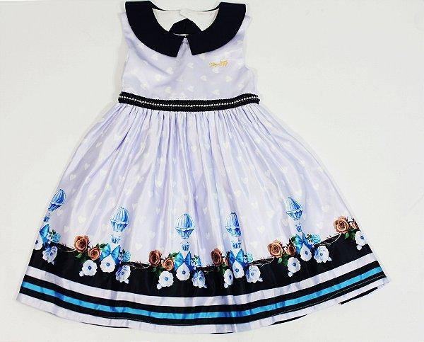 Vestido Festa Lilás Mily