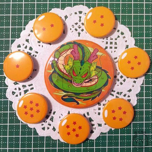 Set de Bottons - Dragon Ball