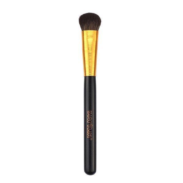G122 – Pincel para Pó e Iluminador Macrilan Linha Gold