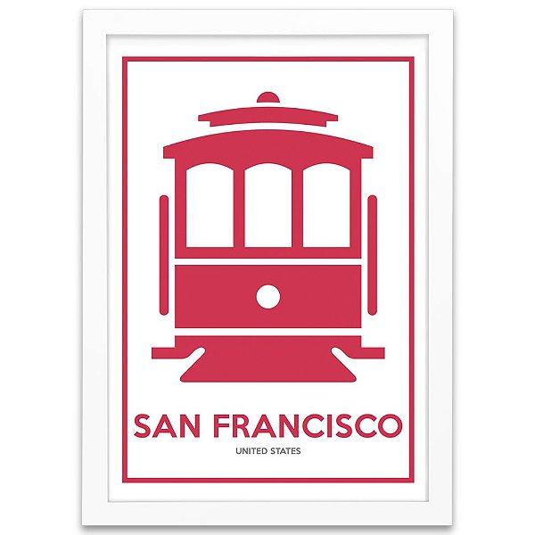 Pôster - San Francisco Cable Car