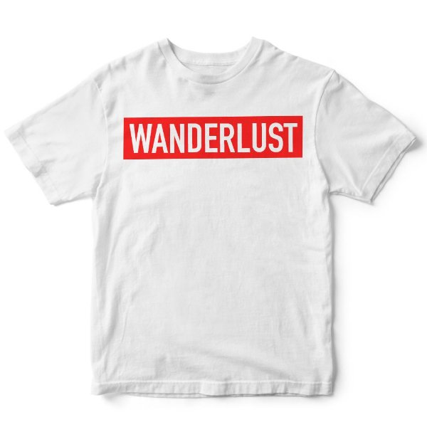 Camiseta Wanderlust Branca