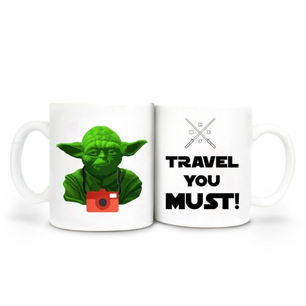 Caneca Star Wars - Travel you must!