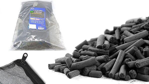 Carvão Ativado para Aquario - 1500g com bolsa