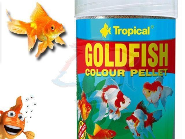 RAÇAO TROPICAL GOLDFISH COLOR PELLET 30G