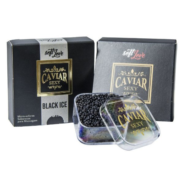 Caviar Sexy Microesferas Black Ice 14g  Soft Love
