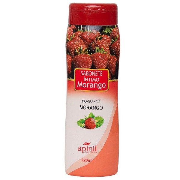 Sabonete Líquido Aromático Morango 220ML APINIL