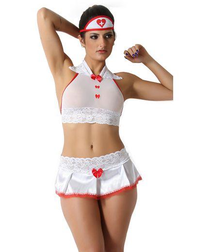 Kit Fantasia Enfermeira Sexy Plus Size