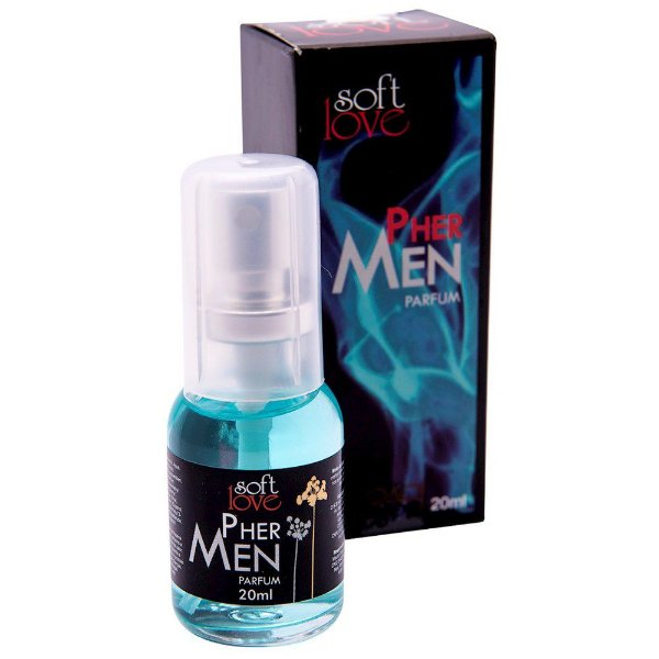 Perfume Phermen Masculino 20ML SOFT LOVE