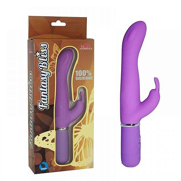 Vibrador Ponto G Rabbit com estimulador clitoriano - Vibe Toys