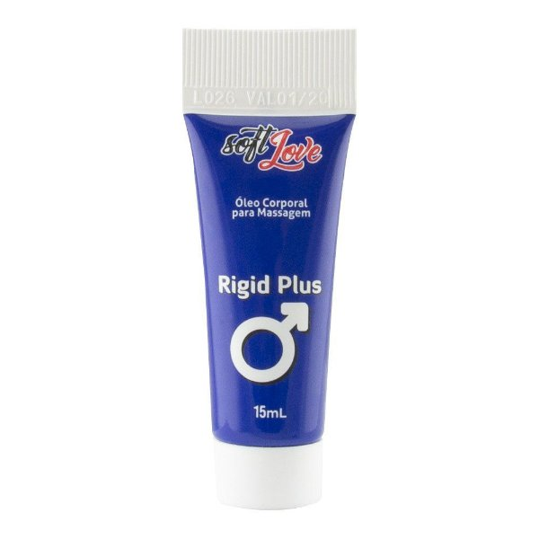Rigid Plus Bisnaga Provoca Ereção  15ml -  SOFT LOVE
