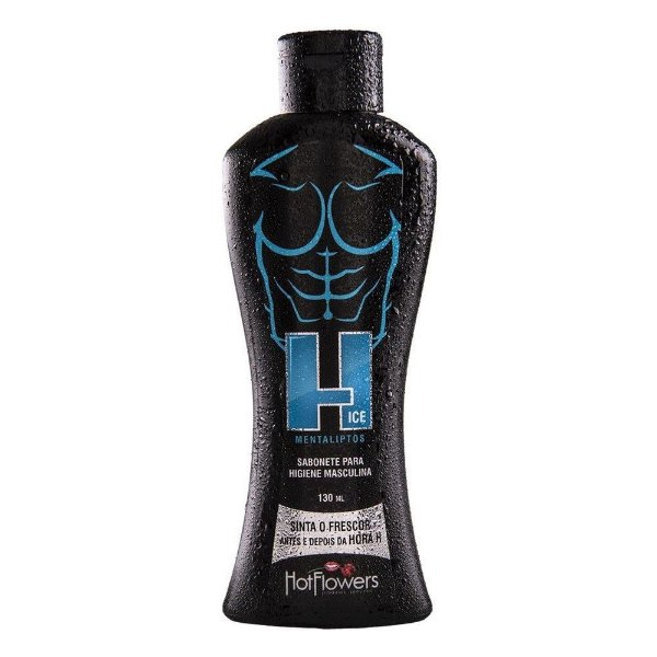 H Ice Sabonete Íntimo Masculino 130ml - Hot Flowers