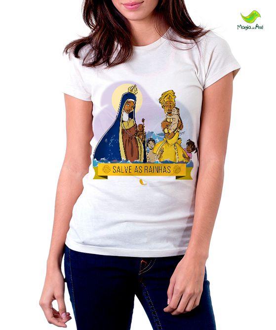 Camiseta Oxum e N. Senhora