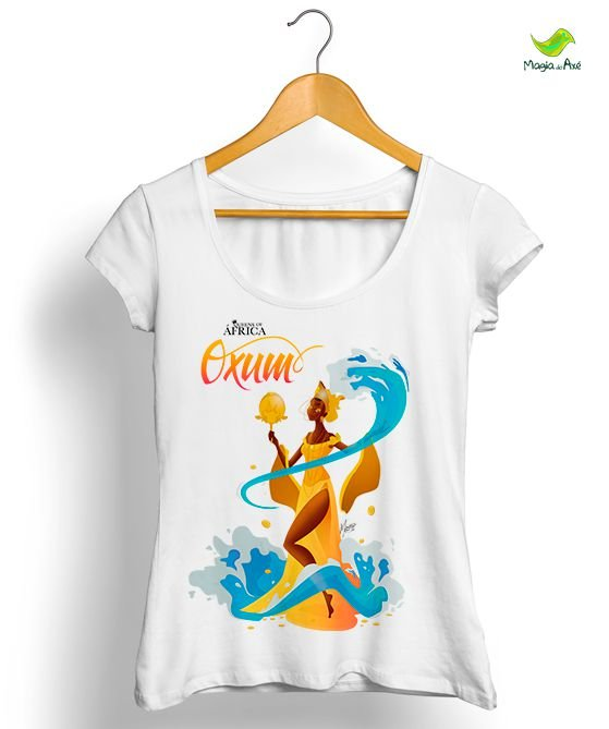 Camiseta Oxum, a mãe do ouro