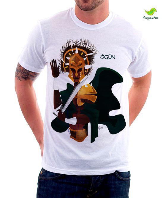 Camiseta Ogum Africano
