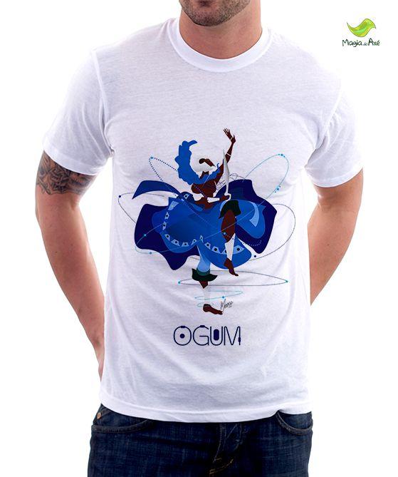 Camiseta Ogum Candomblé