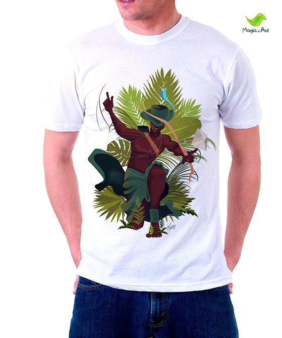Camiseta Oxóssi, o caçador