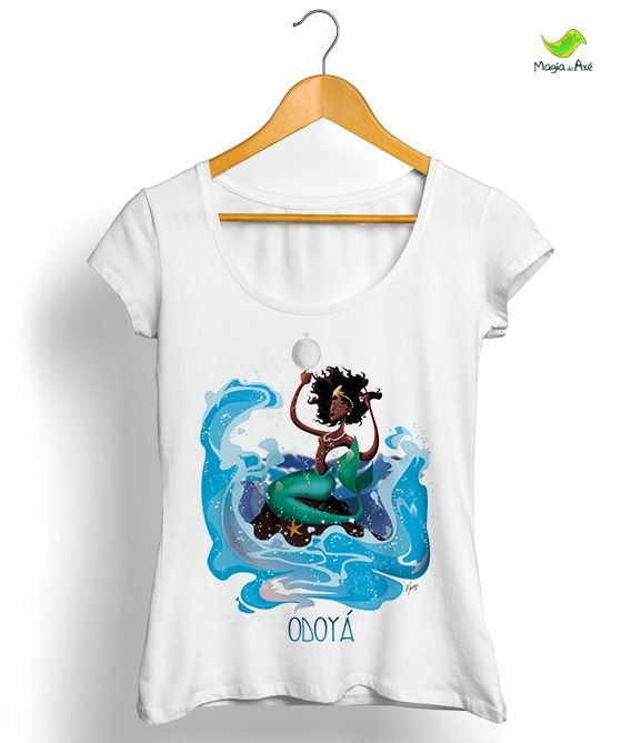 Camiseta Sereia do Mar