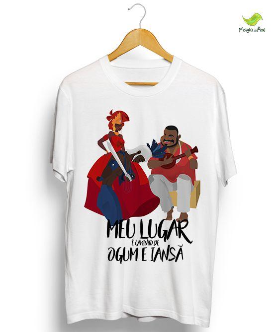 Camiseta - Ogum e Iansã