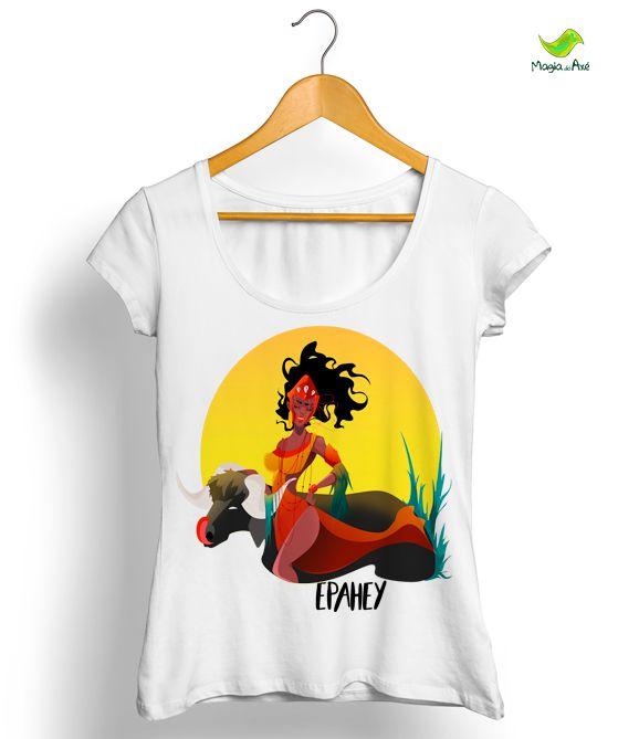 Camiseta Iansã, a senhora dos búfalos