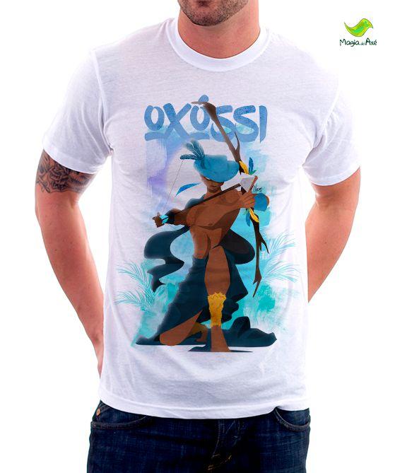 Camiseta Oxóssi lendário