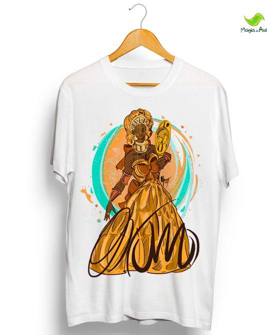 Camiseta - Oxum, a senhora dos rios