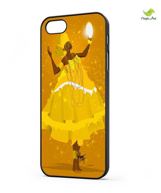 Case para celular - Ê menina, Oxum da Mina