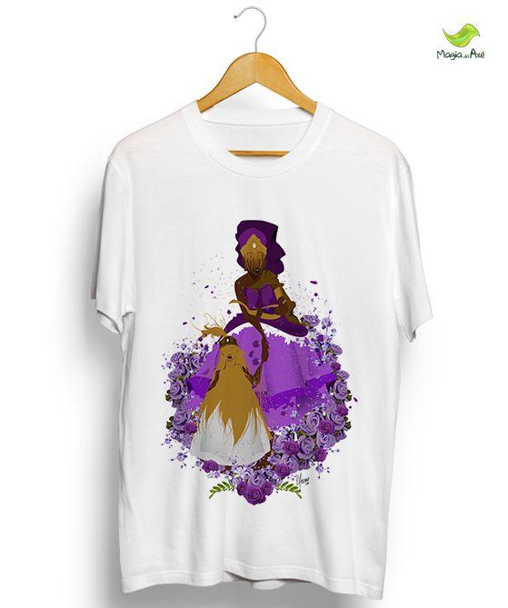 Camiseta - São flores, Nanã! São flores!