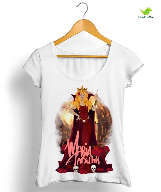 Camiseta - Maria Padilha das Almas