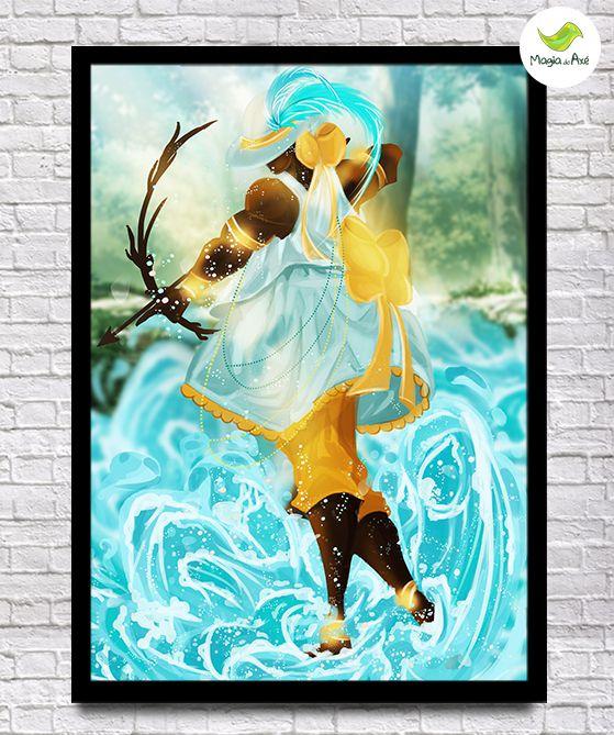 Pôster A3 - Logunedé, o príncipe das águas