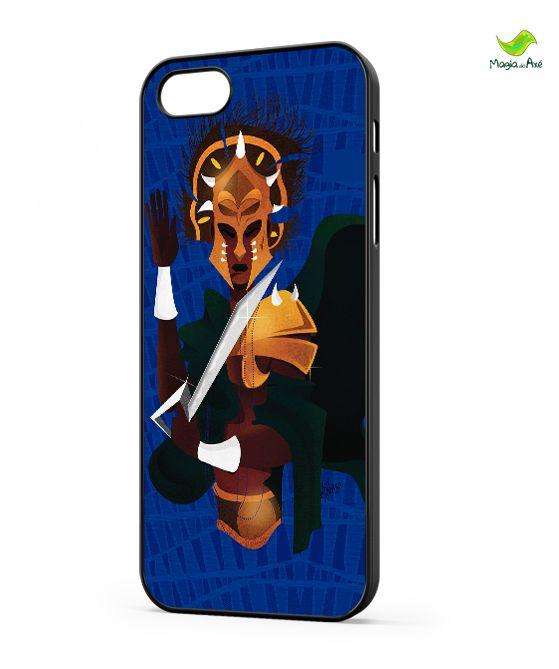 Case para celular - Ogum Africano