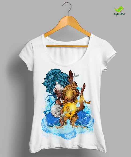 Camiseta - Iemanjá e Oxum, mãe e filha