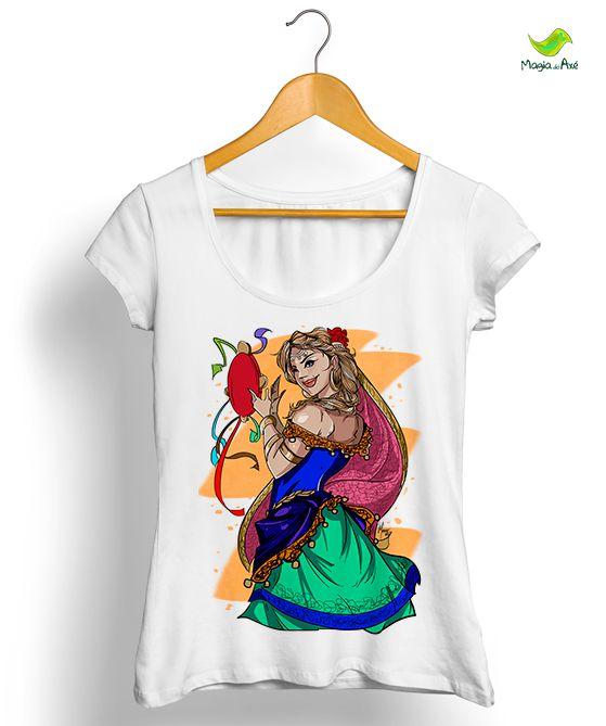 Camiseta - Linha Cigana