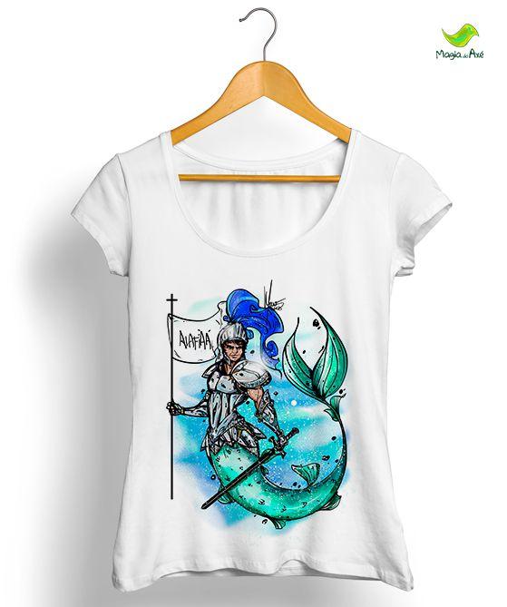 Camiseta - Ogum Iara tritão
