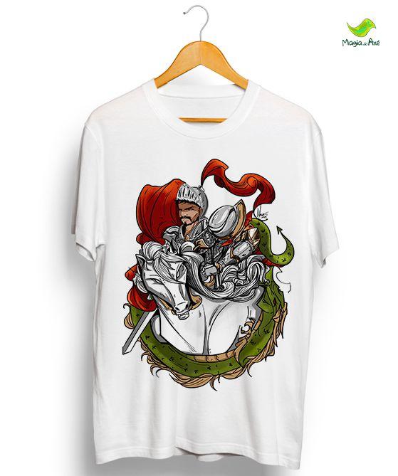 Camiseta - São Jorge Cavaleiro