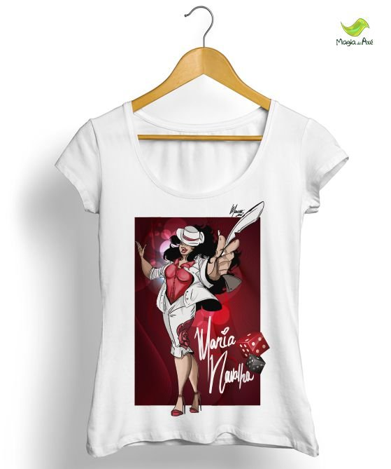 Camiseta - Malandra Maria Navalha