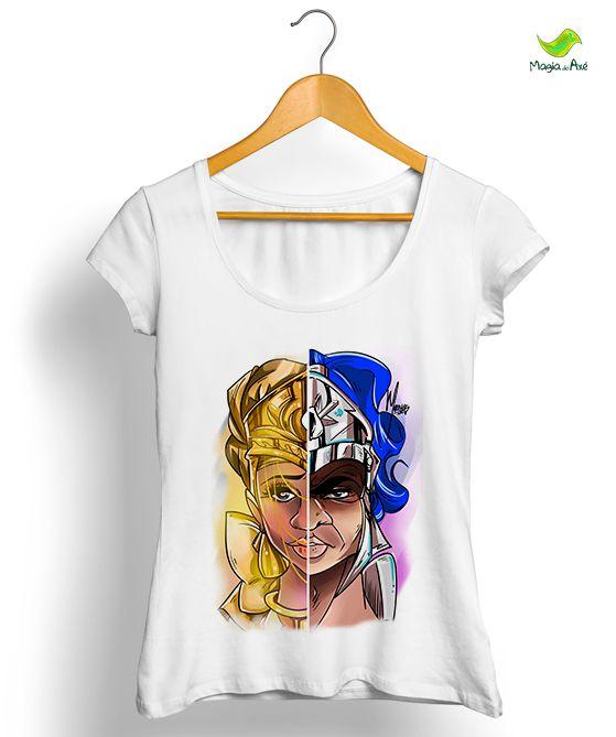 Camiseta - Oxum e Ogum