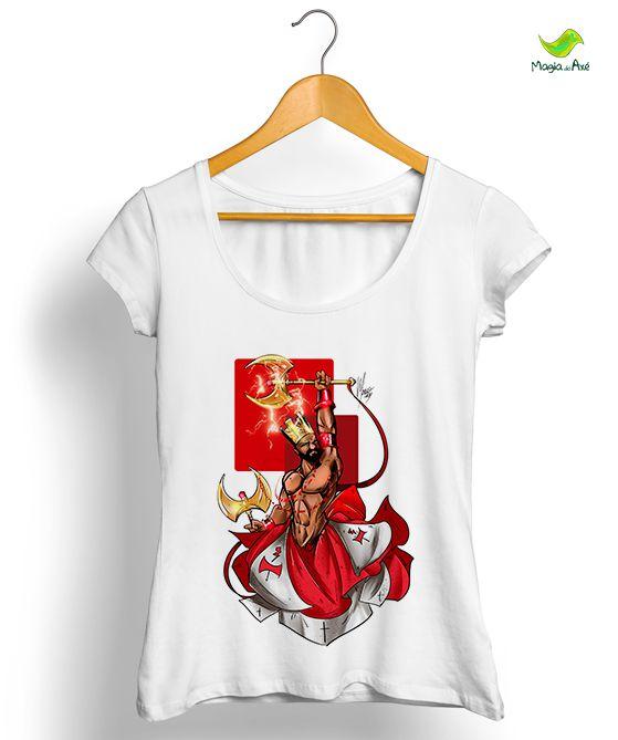 Camisetas - Xangô, o vencedor