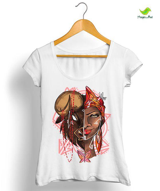 Camiseta - Iansa, o búfalo encantado