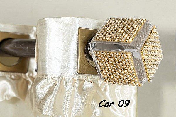 Ponteira Cor 09 Para Varão De Cortina  19 mm